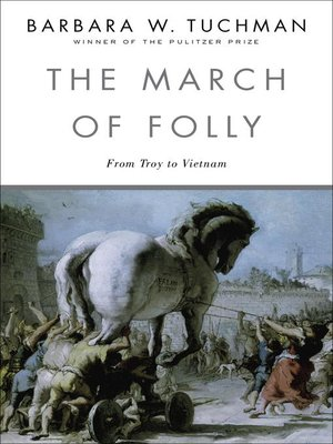 cover image of The March of Folly