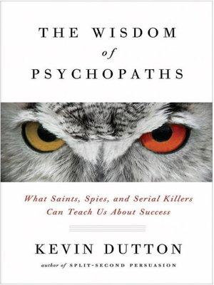 The Wisdom Of Psychopaths Epub