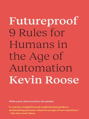 cover image of Futureproof