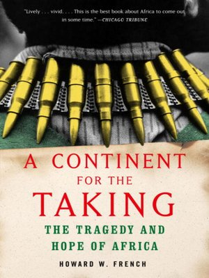 cover image of A Continent for the Taking