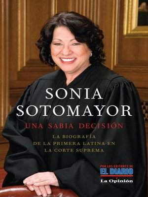 cover image of Sonia Sotomayor