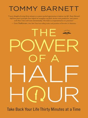 cover image of The Power of a Half Hour