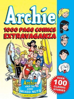 cover image of Archie 1000 Page Comics Extravaganza