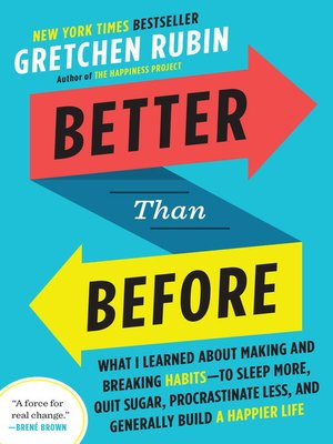 cover image of Better Than Before