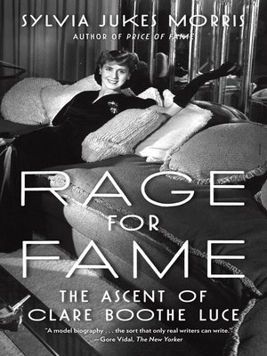cover image of Rage for Fame