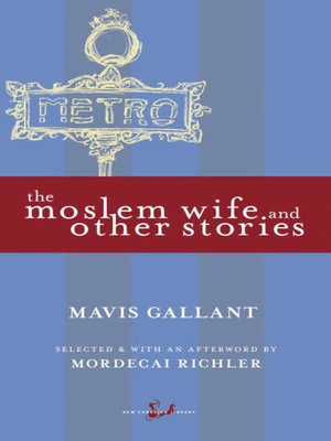 cover image of The Moslem Wife and Other Stories