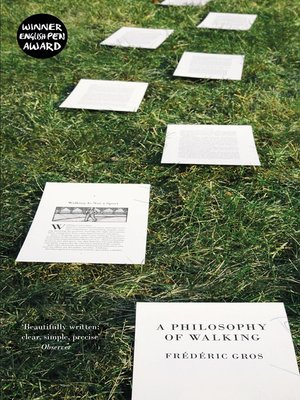 cover image of A Philosophy of Walking