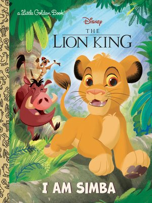 cover image of I Am Simba (Disney the Lion King)