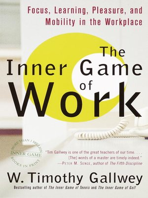cover image of The Inner Game of Work