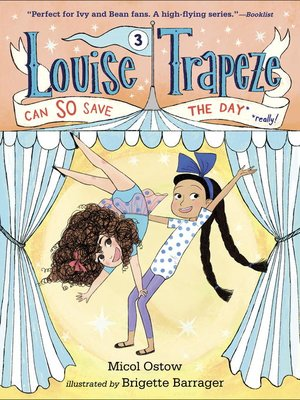 cover image of Louise Trapeze Can SO Save the Day