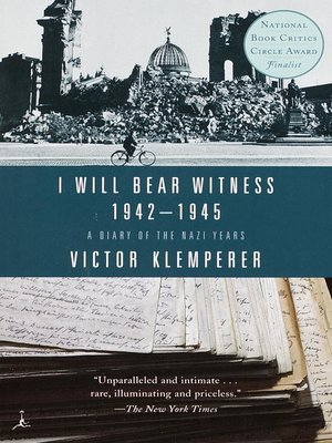 cover image of I Will Bear Witness, Volume 2