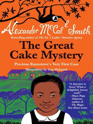 cover image of The Great Cake Mystery