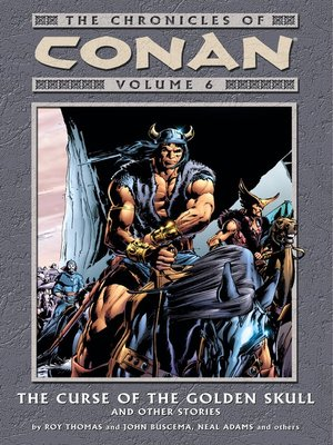 cover image of Chronicles of Conan, Volume 6