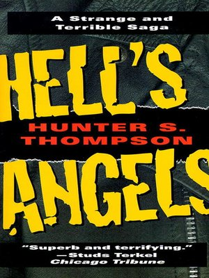 cover image of Hell's Angels