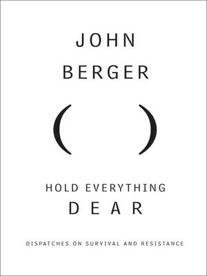 cover image of Hold Everything Dear