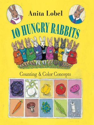 cover image of 10 Hungry Rabbits