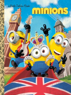 cover image of Minions Little Golden Book