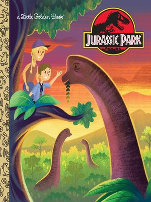 cover image of Jurassic Park Little Golden Book (Jurassic Park)