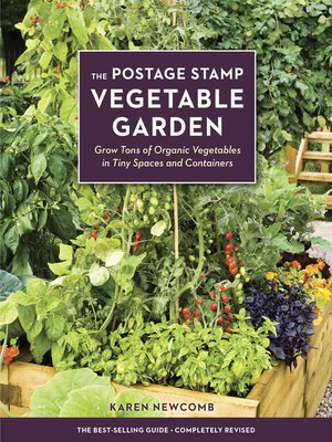 cover image of The Postage Stamp Vegetable Garden