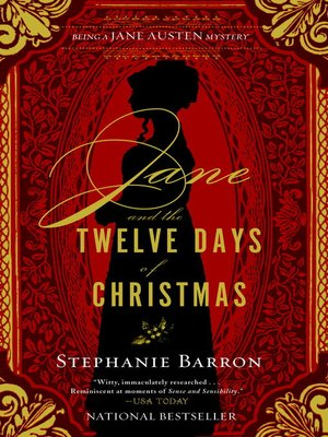 cover image of Jane and the Twelve Days of Christmas