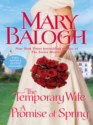 cover image of The Temporary Wife/A Promise of Spring