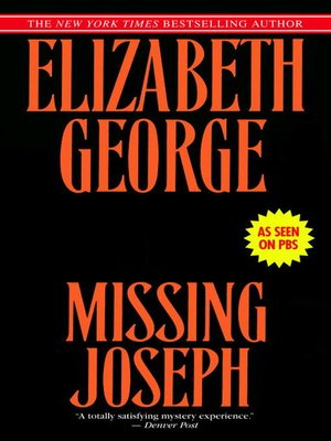 Cover image for Missing Joseph