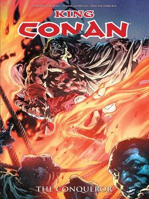 cover image of King Conan: The Conqueror