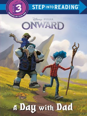 cover image of A Day with Dad (Disney/Pixar Onward)