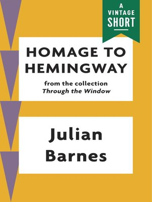 cover image of Homage to Hemingway