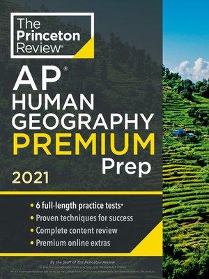 cover image of Princeton Review AP Human Geography Premium Prep, 2021