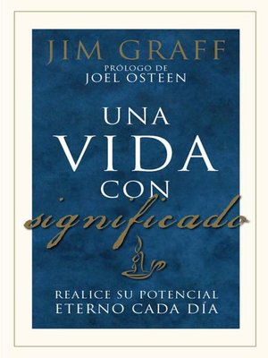 cover image of Una vida con significado