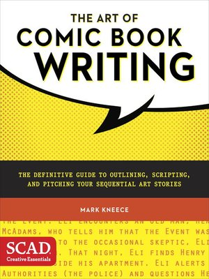 cover image of The Art of Comic Book Writing