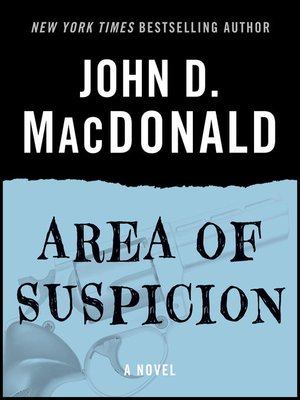 cover image of Area of Suspicion