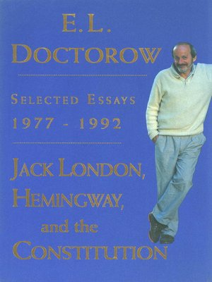 cover image of Jack London, Hemingway, and the Constitution