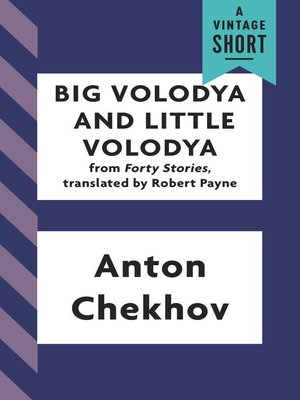 cover image of Big Volodya and Little Volodya