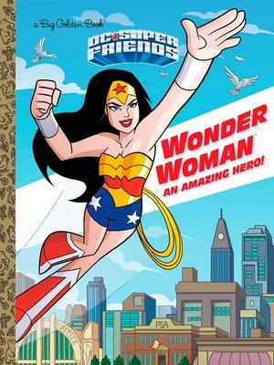 cover image of Wonder Woman Big Golden Book