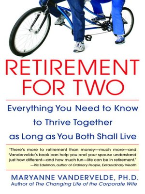 cover image of Retirement for Two
