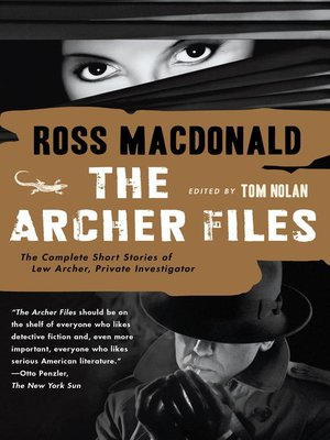 cover image of The Archer Files