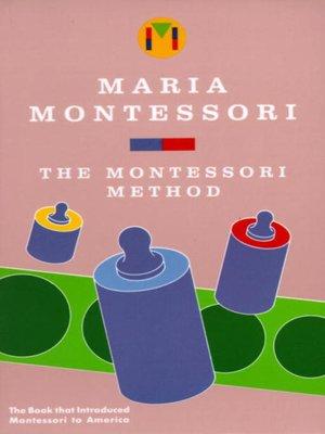 cover image of Montessori Method