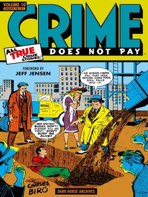 cover image of Crime Does Not Pay Archives, Volume 10