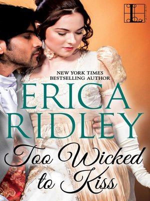 cover image of Too Wicked to Kiss