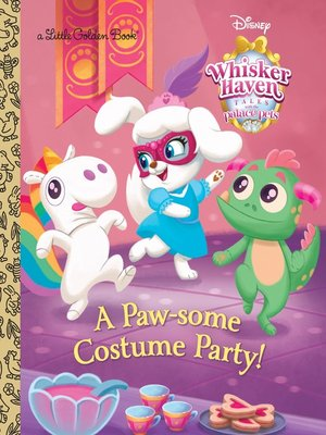 cover image of A Paw-some Costume Party!