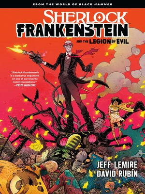 cover image of Sherlock Frankenstein and the Legion of Evil