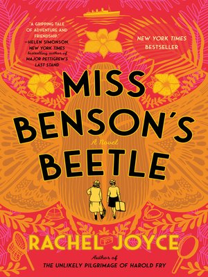 cover image of Miss Benson's Beetle
