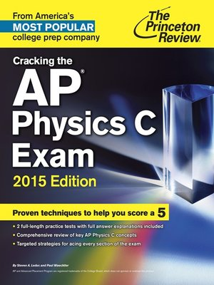 princeton review physics subject test