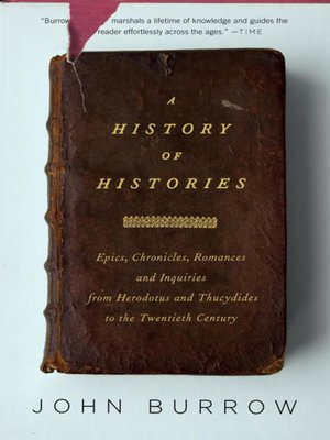 cover image of A History of Histories