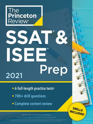 cover image of Princeton Review SSAT & ISEE Prep, 2021