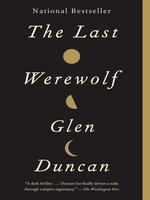 cover image of The Last Werewolf