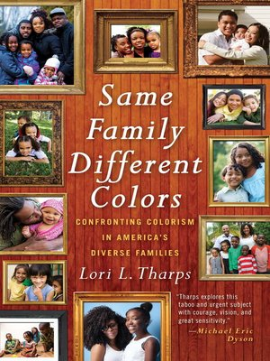 cover image of Same Family, Different Colors