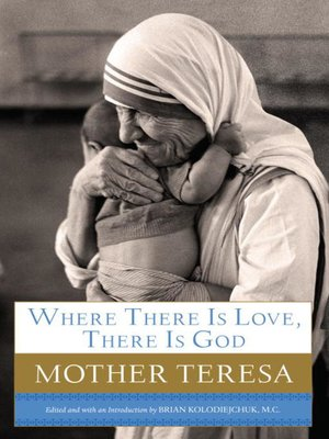 cover image of Where There Is Love, There Is God